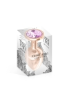 Plug bijou aluminium rose gold M - Hidden Eden