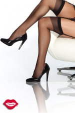 Bas nylon Coquette : Bas nylon, un classique de féminité à fixer sur vos jarretelles.