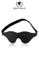 Masque cuir BlackLine : Bandeau en cuir Spartacus pour Une immersion totale au coeur de vos sensations.
