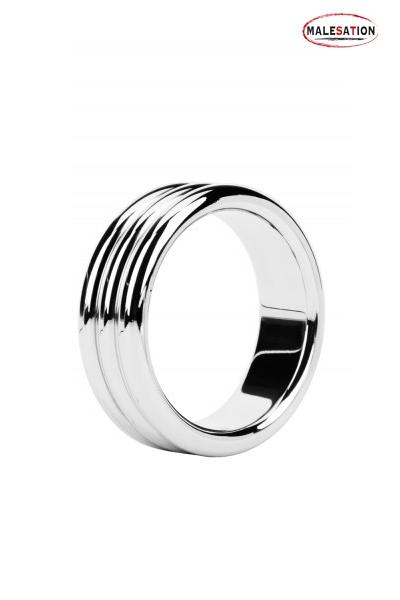 Metal ring Triple steel - Malesation