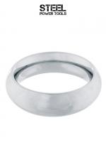 Cockring Donut acier : Il a la forme d'un Donut, il ressemble à un donut, mais c est un anneau de pénis en acier inoxydable haute qualité !