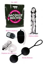 Pack sextoys Merci Qui : Le pack de 4 sextoys de la collection Jacquie et Michel à prix promotionnel.