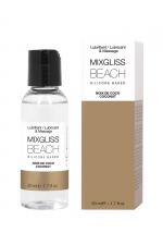 Mixgliss silicone - Noix de coco - 50ml : Fluide 2 en 1 massage et lubrifiant riche en silicone, parfum noix de coco.