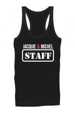Débardeur homme J&M Staff : Marcel Jacquie & Michel Staff pour mettre en valeur vos muscles saillants et impressionner votre entourage !