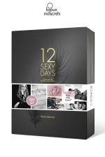 Calendrier sexy 12 jours - Bijoux Indiscrets : Un joli coffret cadeau qui contient 12 surprises pour 12 jours de sensualité, par Bijoux Indiscrets.