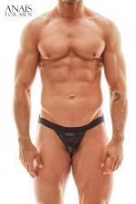 Jock Strap Elektro - Anaïs for Men : Jocks trap sexy transparent et aux reflets métallisés fabriqué en Europe Par la marque pour homme Anaïs Lingerie.