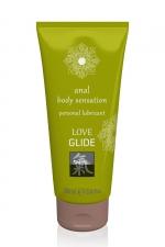 Lubrifiant anal 100ml - Shiatsu Love Glide : Gel lubrifiant à base d'eau, spécialement conçu pour les relations anales. Produit médical haute qualité.