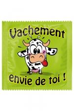 Préservatif humour - Vachement Envie De Toi : Préservatif Vachement Envie De Toi, un préservatif personnalisé humoristique de qualité, fabriqué en France, marque Callvin.